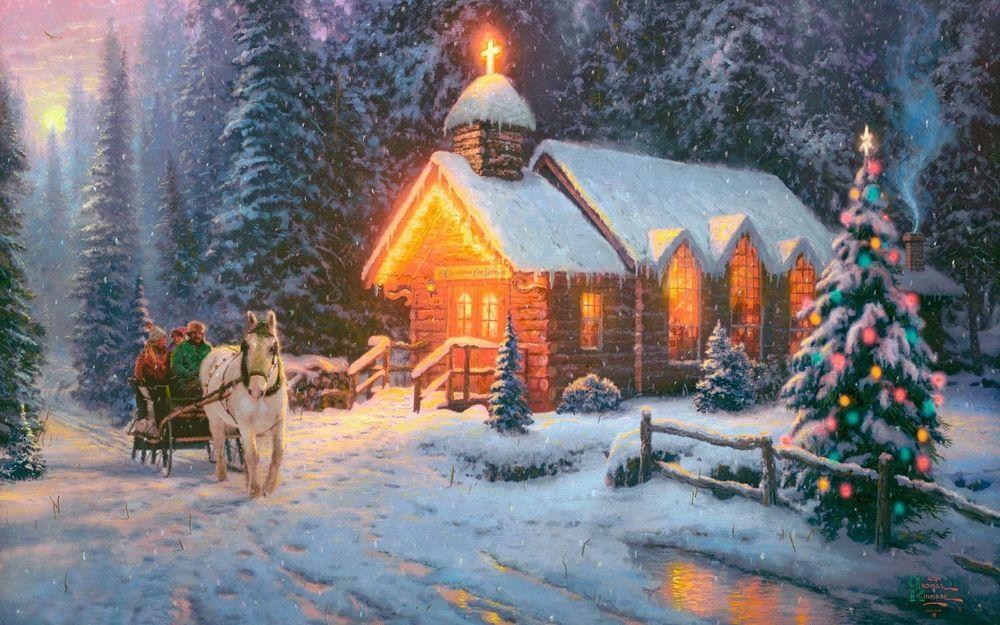 Рождество Христово в Спасском соборе