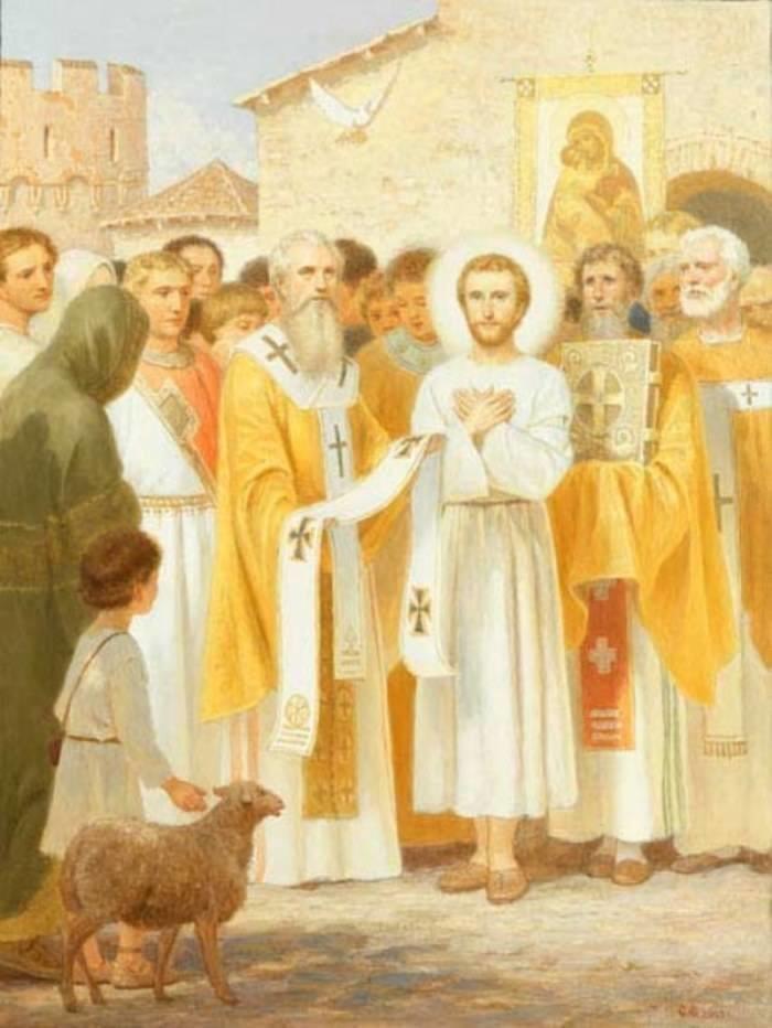 св Николая выбрали епископом