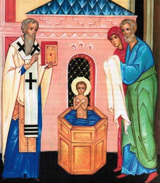 крещение св Николая