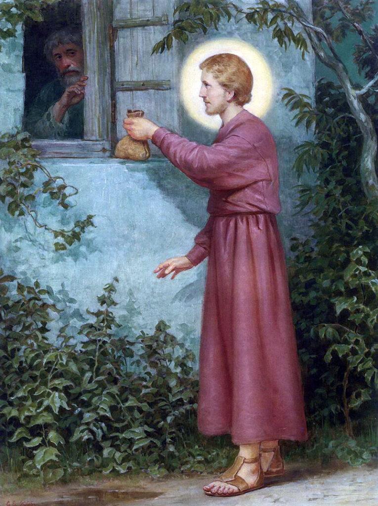 Деяния Николая Чудотворца.Помощь обнищавшему