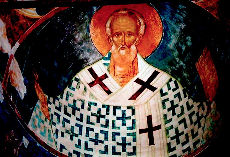 св Николай фреска