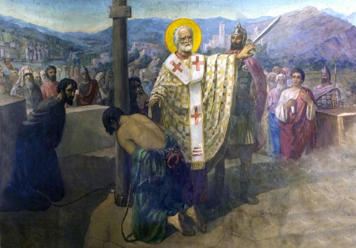 св Николай не дал убить узников