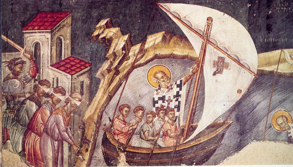 св Николай спасает моряков